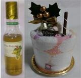 今治クリスマスケーキとワインソープセット