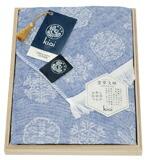 紀尾井伊勢型紙日本製ガーゼストール