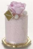 桂由美ストロベリー香り付タオルケーキ手持ち付ケース付