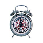 INDEPENDENT インディペンデント TIME TO GRIND ALARM CLOCK CHROME