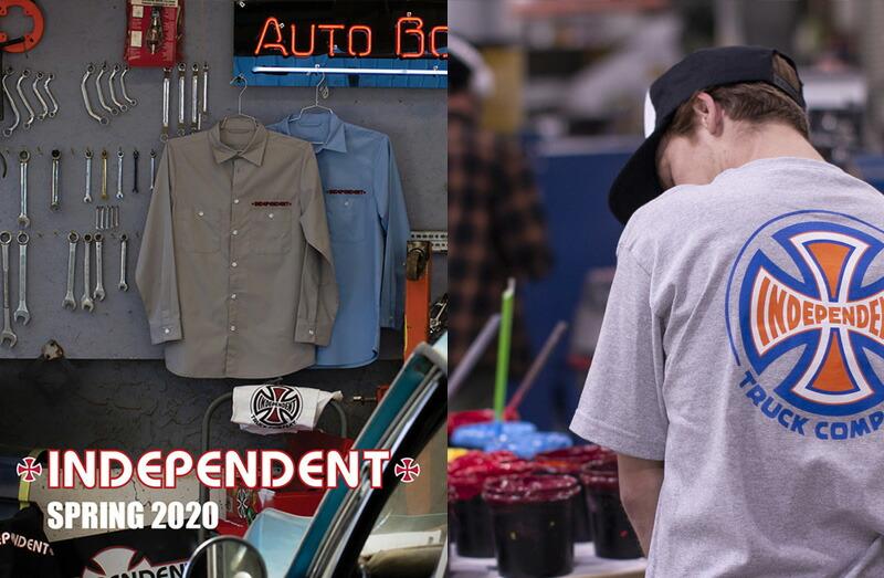 INDEPENDENT TRUCKS APPAREL 2020SS
