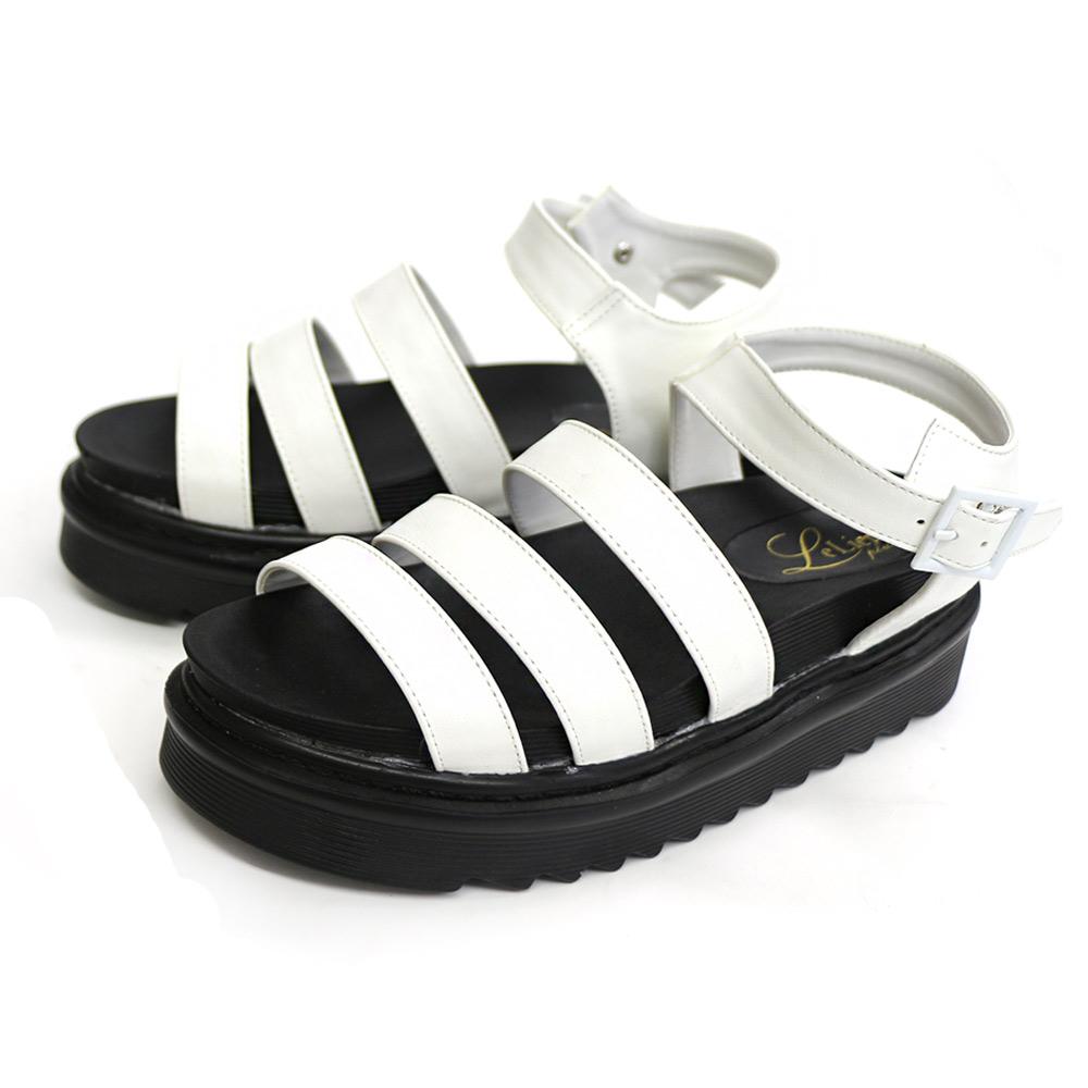 AmiAmiのシューズ・靴/サンダル|ホワイト(スムース)