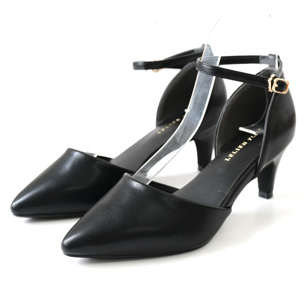 AmiAmiのシューズ・靴/パンプス|ブラック(スムース)