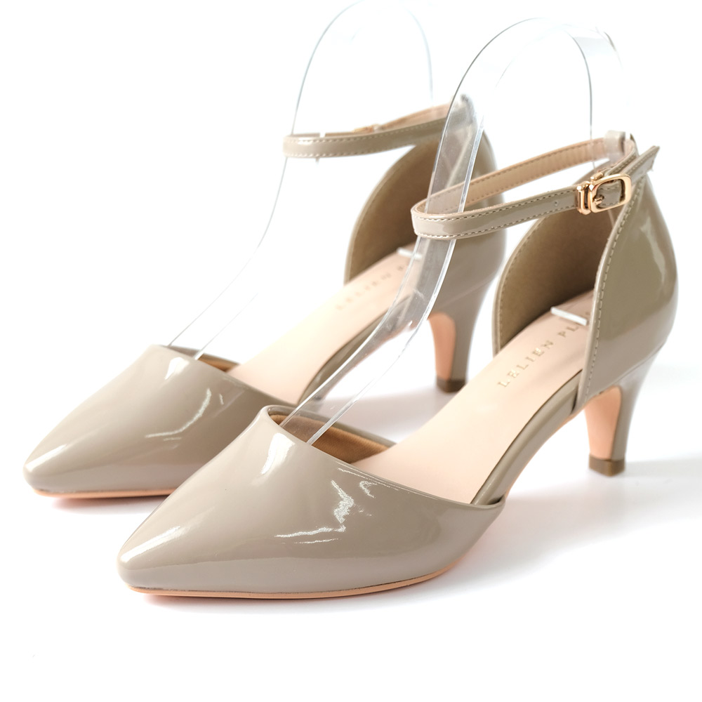 AmiAmiのシューズ・靴/パンプス|グレージュ(エナメル)