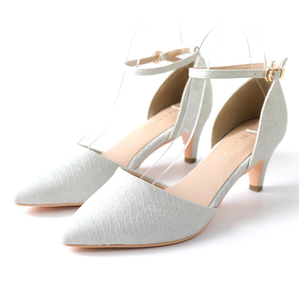 AmiAmiのシューズ・靴/パンプス|アイボリー(型押し)