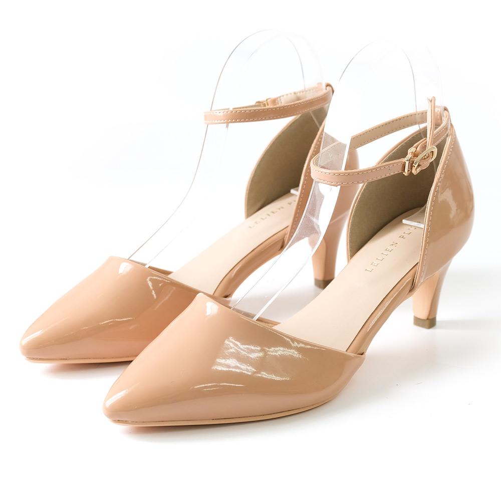 AmiAmiのシューズ・靴/パンプス|ピンクベージュ(エナメル)