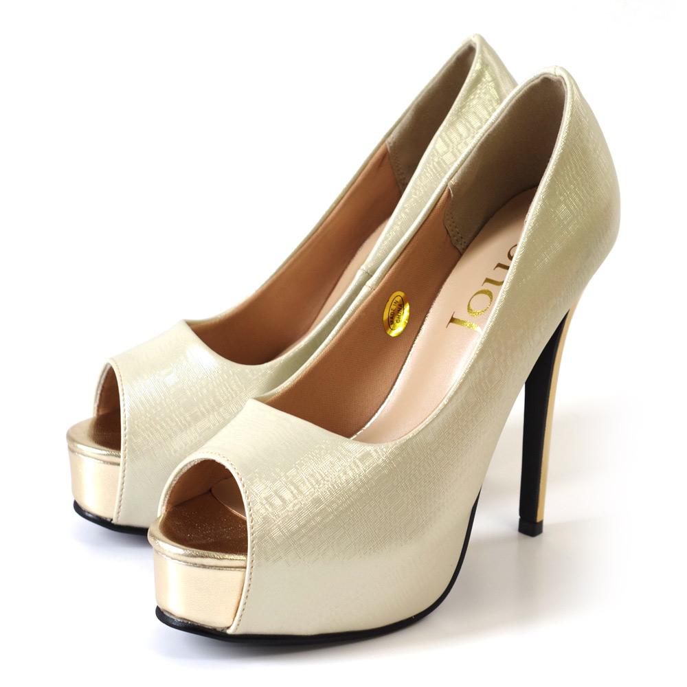AmiAmiのシューズ・靴/パンプス ゴールド