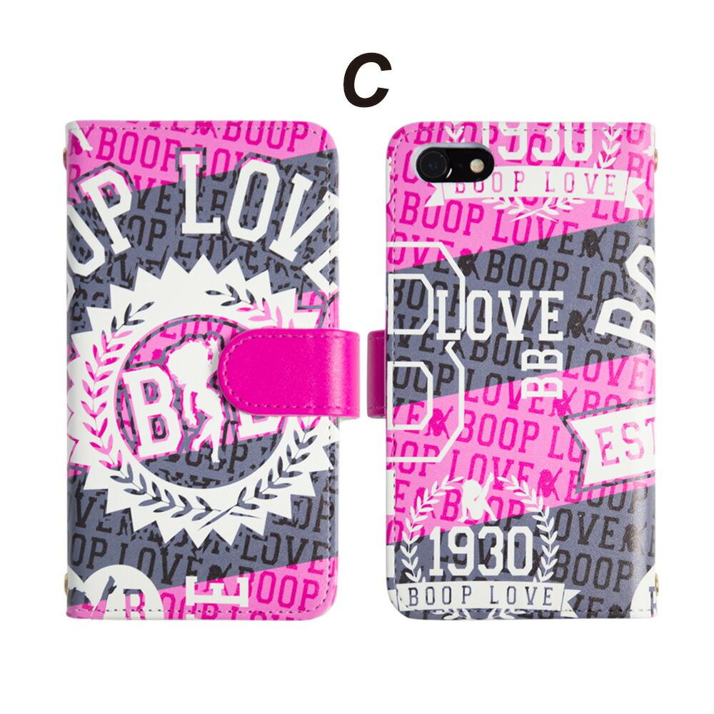 ベティー・ブープBETTYBOOPスマホケース手帳型iPhone7ケース可愛い両面デザインアメリカキャラクターiPhone7PlusiPhone6iPhone6sXperiaXZXperiaZ5SO-01JSO-02JSOV34601SO
