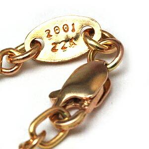 Chrome hearts (Chrome Hearts) chrome hearts necklace chain 22K gold twist  20 (pendant men silver accessories wallet T-shirt cap ring 22k)
