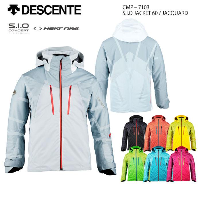 スキーウェア ジャケット/DESCENTE デサント S.I.O JACKET 60/JACQUARD CMP-7103(2018)