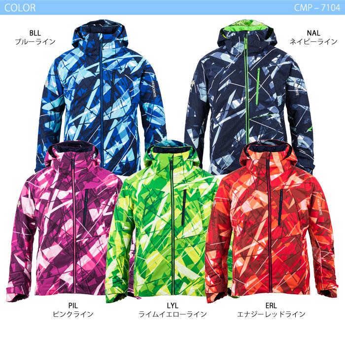 スキーウェア ジャケット/DESCENTE デサント S.I.O JACKET 60/LINE CMP-7104