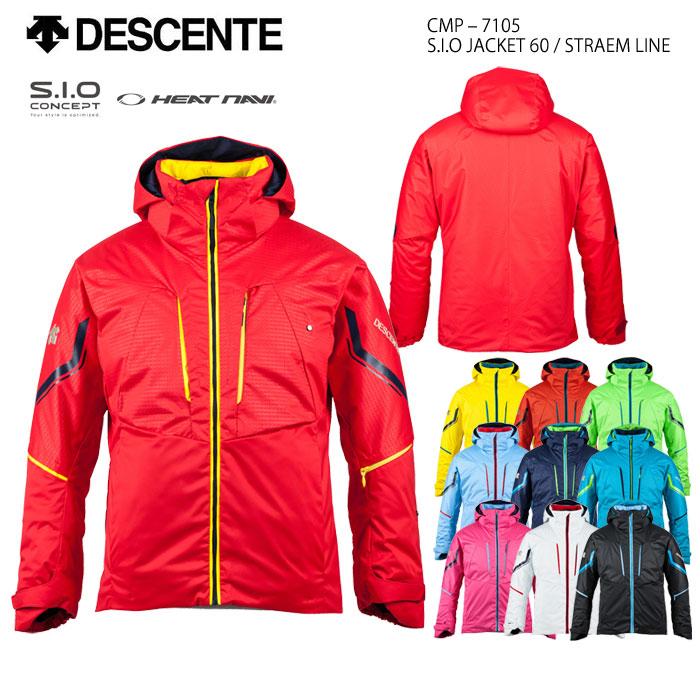 スキーウェア ジャケット/DESCENTE デサント S.I.O JACKET 60/STRAEM LINE CMP-7105