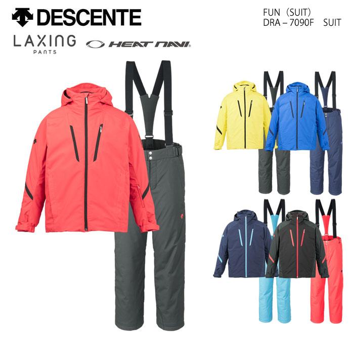 DESCENTE/デサント スキーウェア 上下セット ラクシングパンツ/DRA-7090F