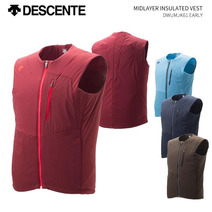 DESCENTE/デサント ミッドレイヤーインシュレイテッドベスト/DWUMJK61