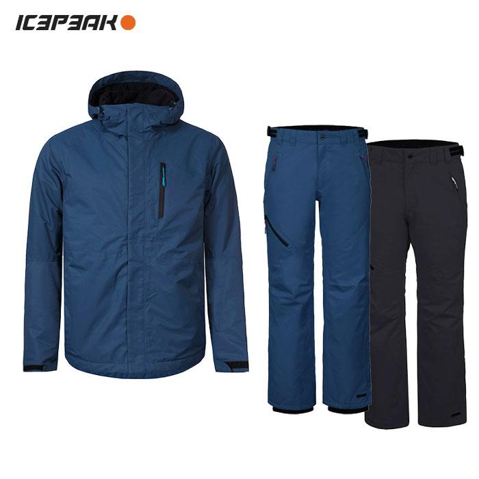 ICEPEAK/アイスピーク スキーウェア 上下セット/NAVY