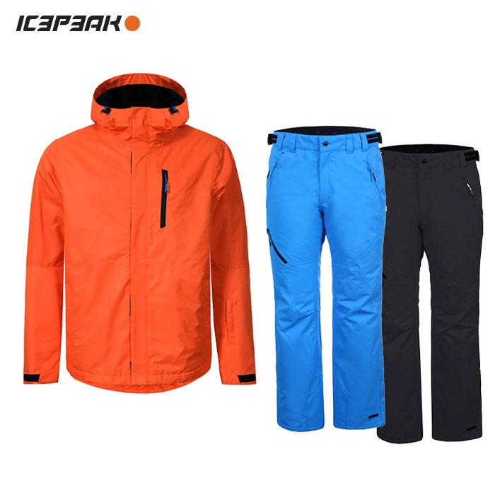 ICEPEAK/アイスピーク スキーウェア 上下セット/ORANGE
