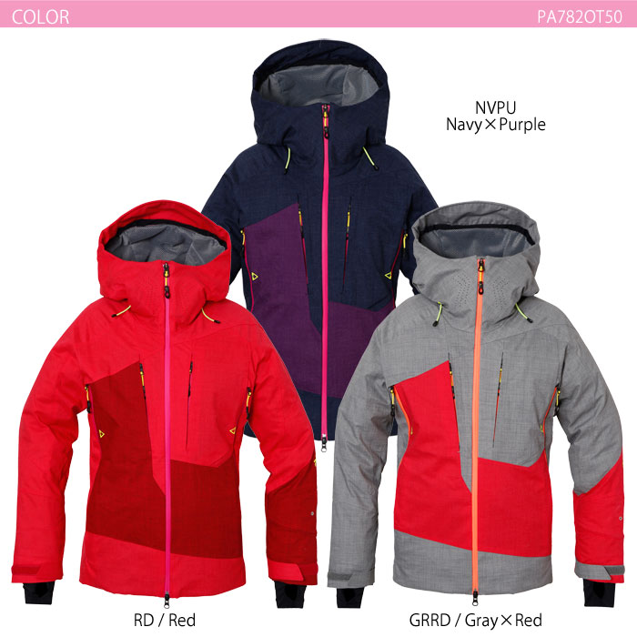スキーウェア レディースジャケット/PHENIX フェニックス Spray Insulation Women's PA782OT50