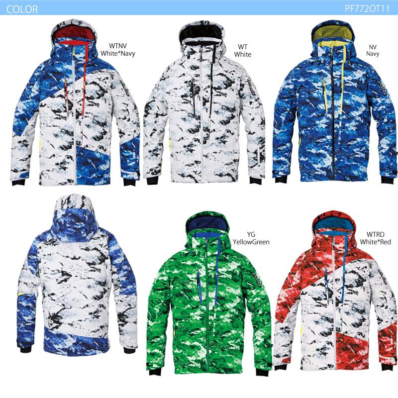 スキーウェア ジャケット/PHENIX フェニックス デモチームプロ PF772OT11