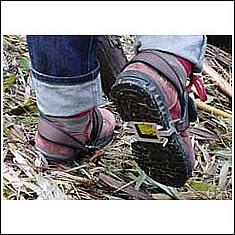 おりらーく / ハイキング、山菜採り、草刈りに 滑り防止用具