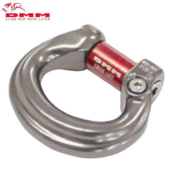 DMM コンパクトスイベル 「コンパクトシャックル L(弓型)」Compact Shackles ツリーケア クライミング リギング ブリッジ コネクター【DM0276】