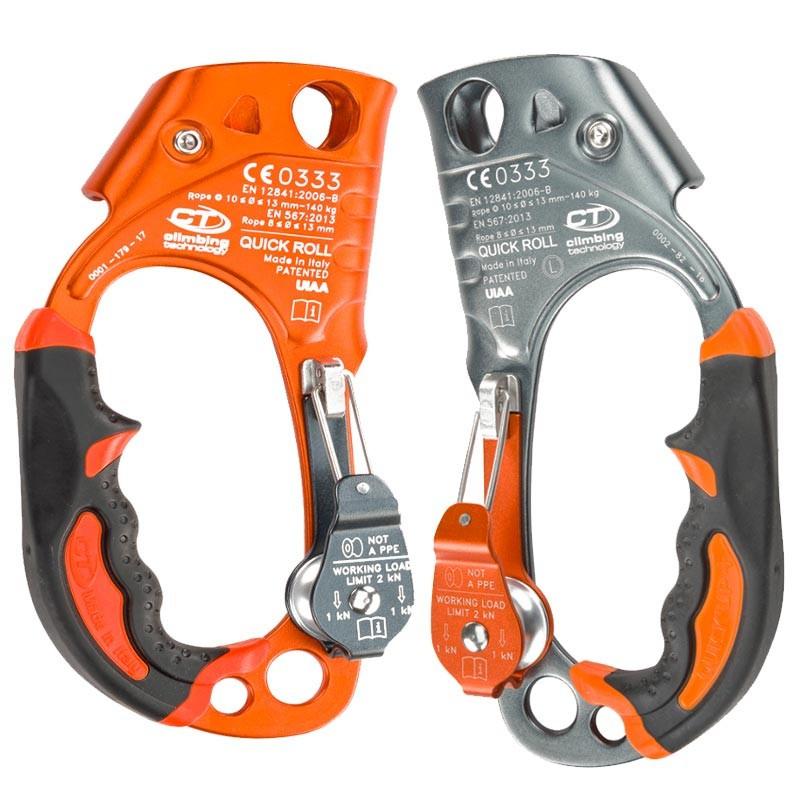 クライミングテクノロジー(climbing technology)(イタリア) ハンドアッセンダー 「クイックロール」 QUICK ROLL 【2D663DF】 | ロープ登高 レスキュー 下降