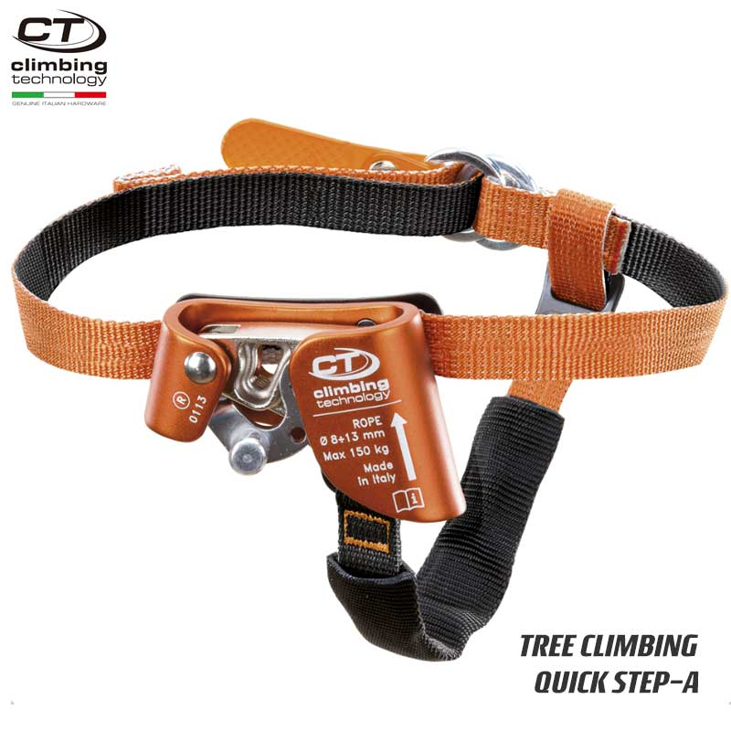 クライミングテクノロジー(climbing technology)(イタリア) フットアッセンダー 「クイックステップ-A」 QUICK STEP-A 【2D654D】 【2D654S】 | ツリークライミング ロープ登高 レスキュー 下降