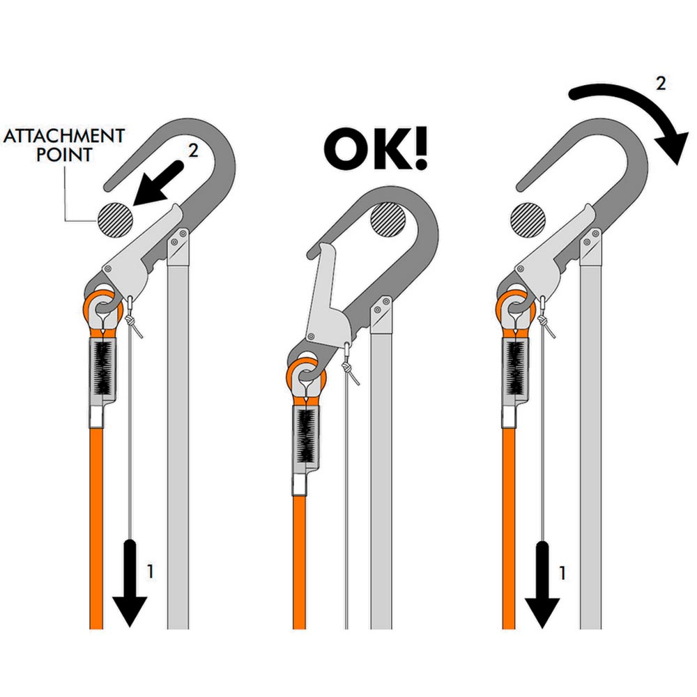 Climbing Technology(クライミングテクノロジー) フォールアレスター 「フィックス ロッド (Fix Rod )」 【7L9270E】