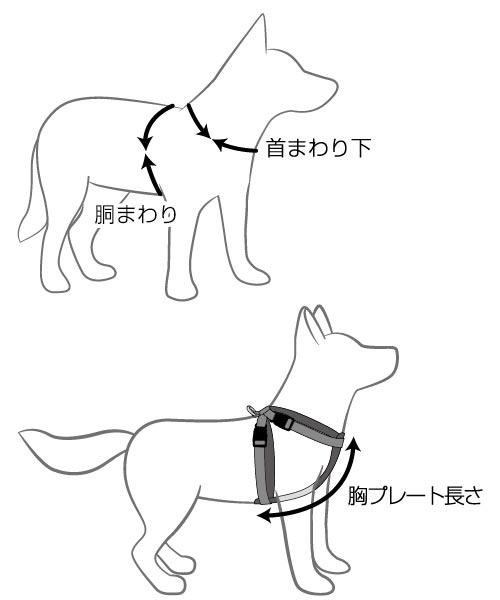 オーストラリア EZYDOG社 犬用(ドッグ) シートベルト固定具付ハーネス 「ハーネス XXSサイズ」