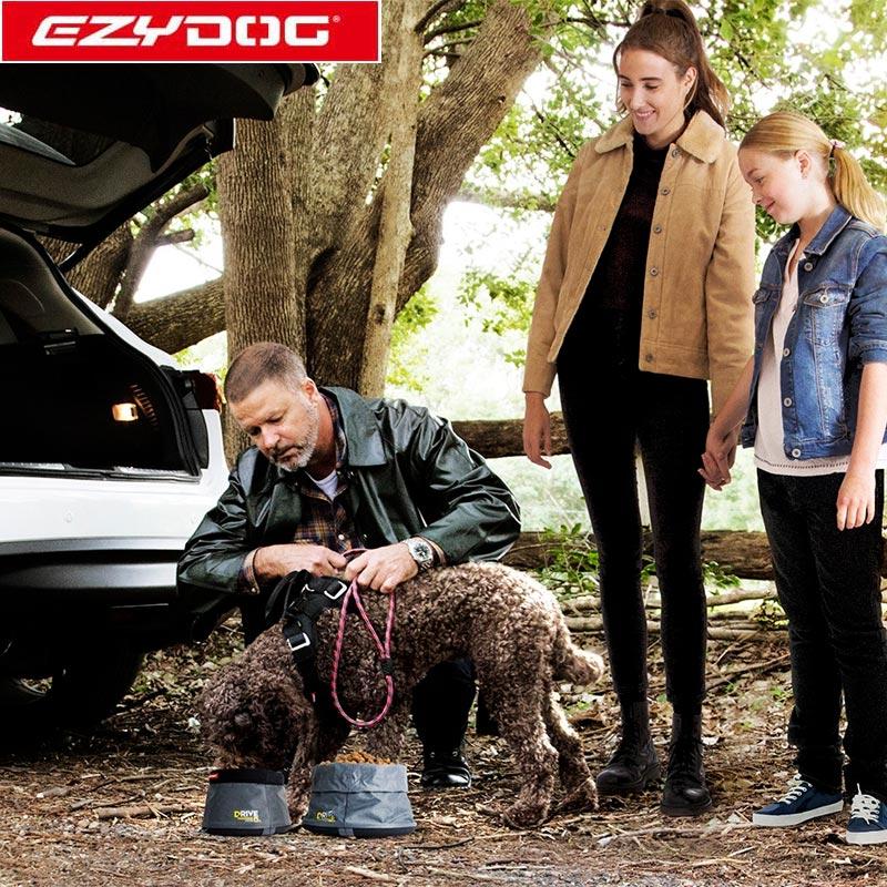 オーストラリア EZYDOG社 イージードッグ 犬用(ドッグ) 折りたたみ式ドライブボウル 水入れ L(全1色)