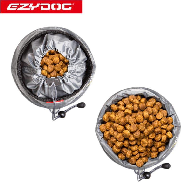 オーストラリア EZYDOG社 イージードッグ 犬用(ドッグ) 折りたたみ式ドライブボウル 餌入れ L(全1色)