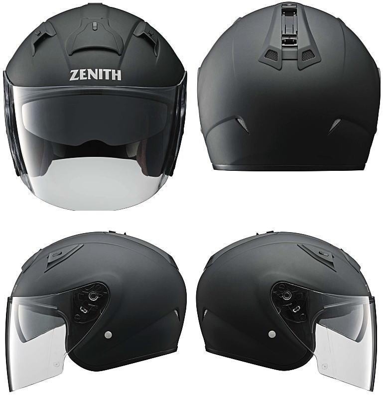 ヤマハサンバイザージェットヘルメット ゼニスYJ-14前後右左