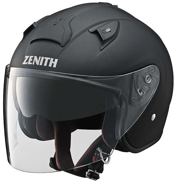 ヤマハサンバイザージェットヘルメット ゼニスYJ-14ラバートーンブラック