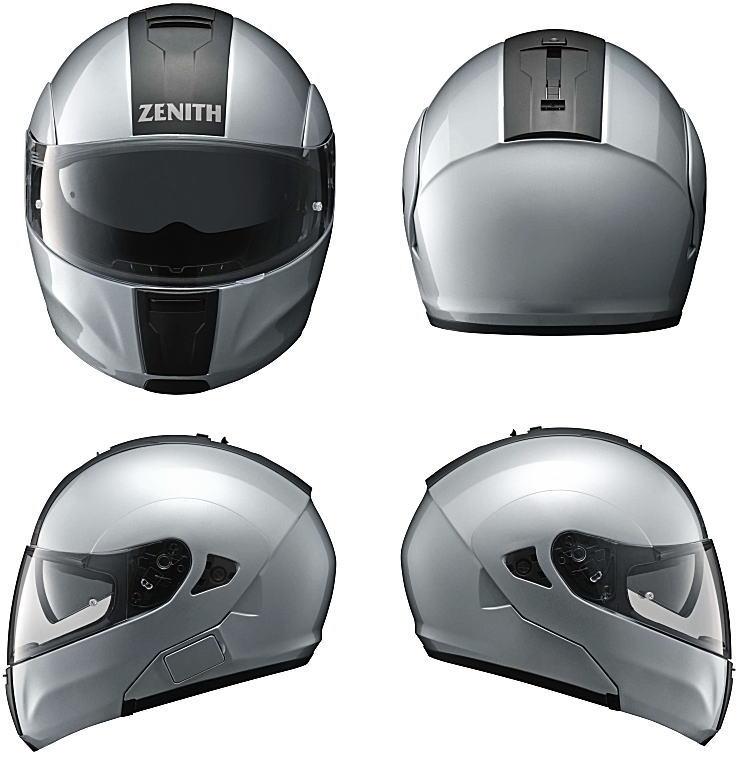 ヤマハサンバイザーシステムヘルメット ゼニスYJ-15前後右左