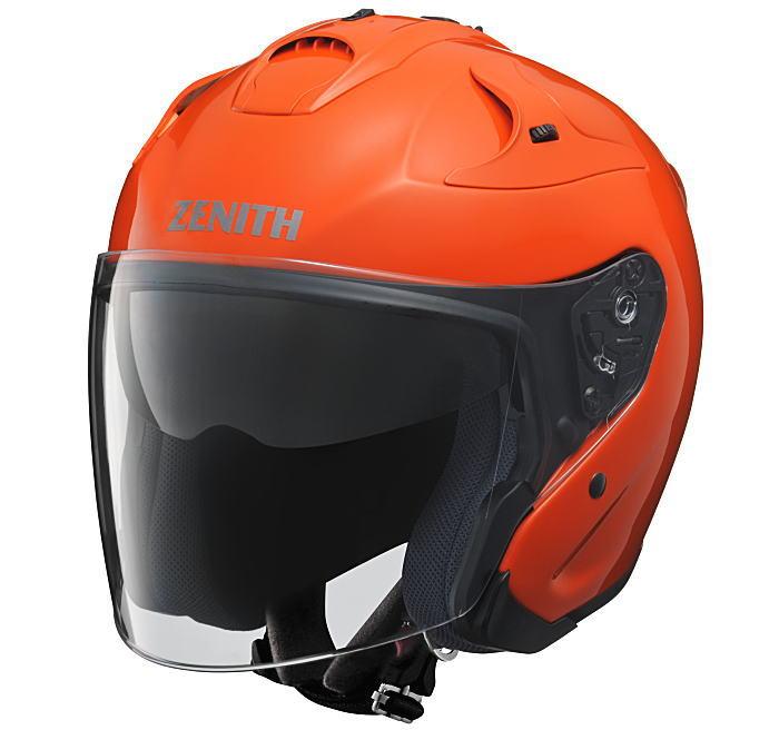 ヤマハサンバイザージェットヘルメット ゼニスYJ-17ダークオレンジ