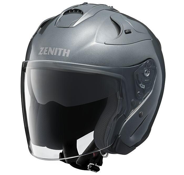 ヤマハサンバイザージェットヘルメット ゼニスYJ-17ダークメタリックシルバー