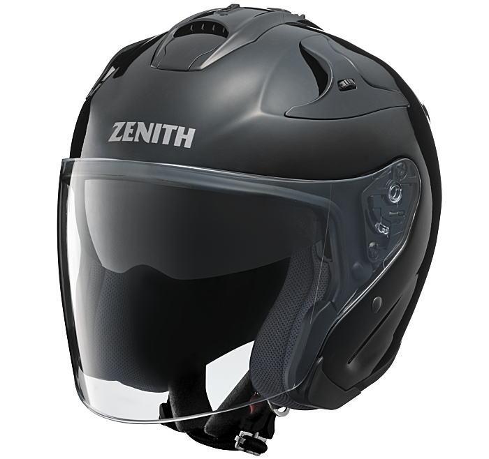 ヤマハサンバイザージェットヘルメット ゼニスYJ-17クメタルブラック