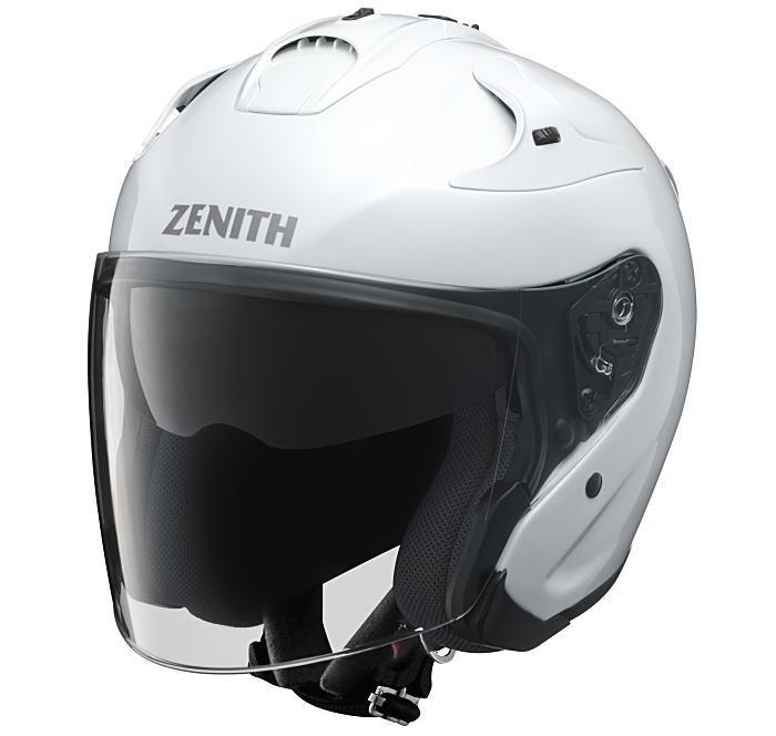 ヤマハサンバイザージェットヘルメット ゼニスYJ-17パールホワイト