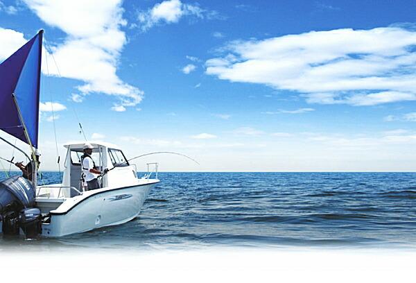 ヤマハYF23EX スパンカー流し釣り