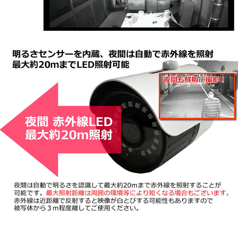 防犯カメラ SDカード録画 屋外 家庭用