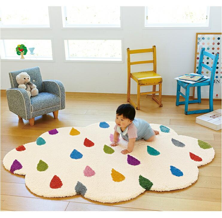 キッズが喜びそうな北欧テイストの子供部屋用ラグのおすすめが知りたいです。