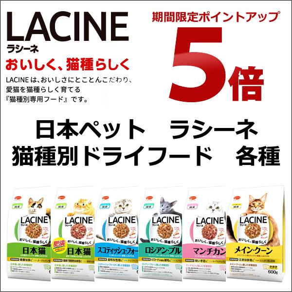 日本ペット ラシーネ 猫種別ドライ 各種 ポイント5倍