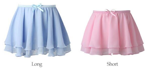 スカート丈比較