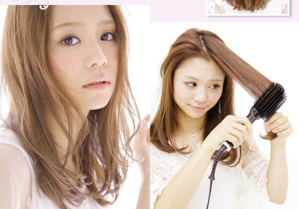 Very ロングスタイル 毛先の束感を出すと、ナチュラルキュートさがアップします。毛先は、全てが同じ方向ではなく、少しランダムにすることでよりエアリー感が増します。