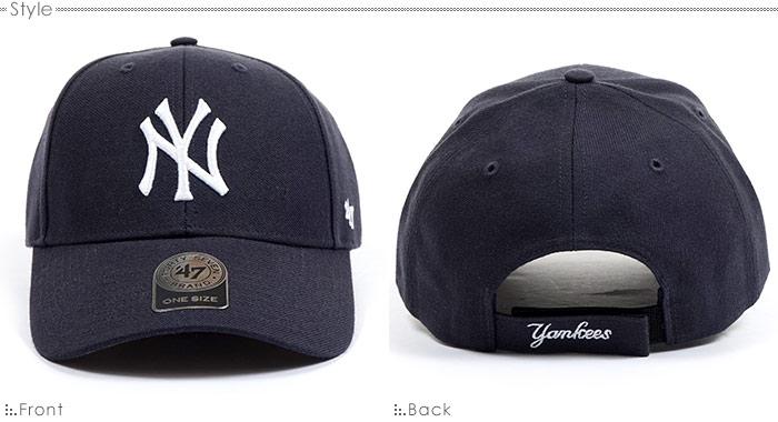 ヤンキースキャップ/MLB キャップ/47Brandキャップ