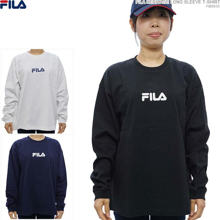 FILA フィラ 長袖Tシャツ