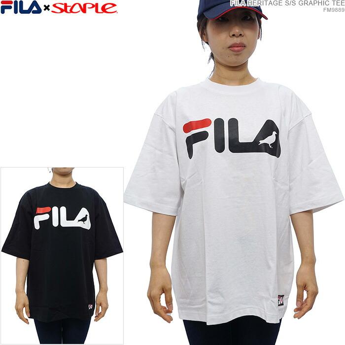 FILA × STAPLE 半袖Tシャツ ステイプル ピジョン 通販
