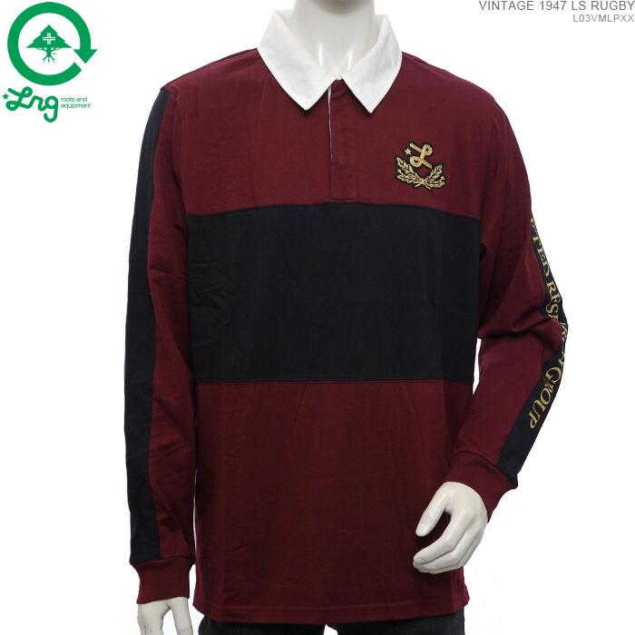 LRG エルアールジー ラグビーシャツ