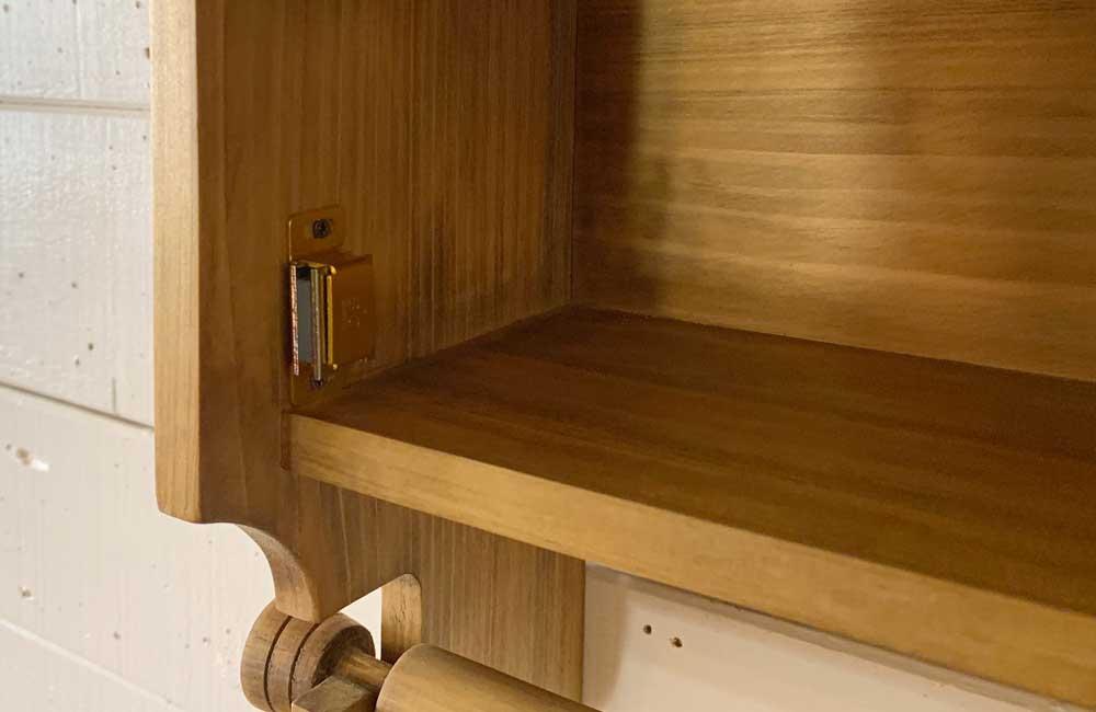 キッチンペーパーホルダー 壁かけラック 壁掛けホルダー スパイスラック レギュラーサイズ(230mm)