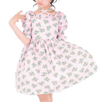 天使のドレス屋さん 花柄 ワンピース スカート 子供服 子供