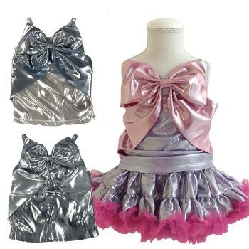 天使のドレス屋さん キャミソール キャミ トップス リボン kawaii 原宿 宇宙 衣装 ダンス 子供服 子供